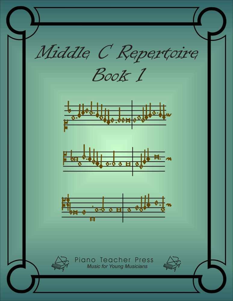 PIANO METHOD - Middle C Repertoire (1/6)