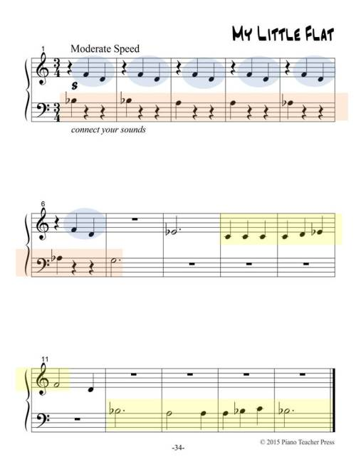 excerpt - Middle C Repertoire - Book 1