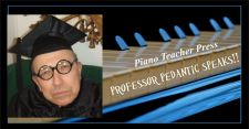 PTP VIDEO LOGO -Professor Pedantic Speaks